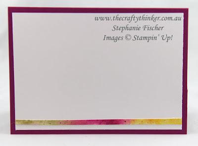 Watercolour Wash, Lovely Words Sneak Peek, Swirly Scribbles, #thecraftythinker, Stampin Up Australia Demonstrator, Stephanie Fischer, Sydney NSW