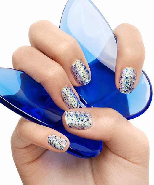 on a silver platter essie vernis ongles nail polish encrusted treasures 2014