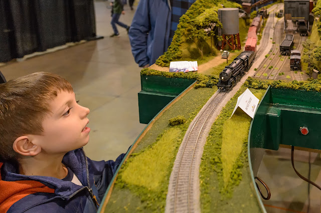 Model Train Layout at The World's Greatest Hobby on Tour