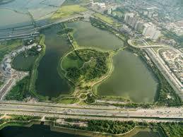 thiết kế không gian xanh tại dự án Green Park