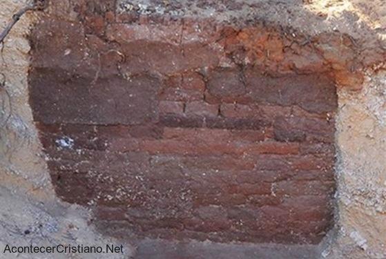 Ruinas de puesto asirio de  2.700 años