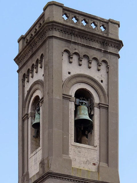 Bell tower, church of the Most Holy Trinity, Borgo dei Cappuccini, Livorno