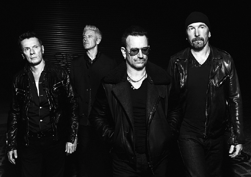 U2 bono edge larry mullen adam clayton paul mcguiness apple itunes free