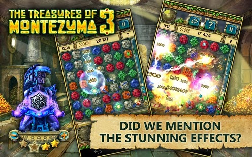 The Treasures of Montezuma 3 Android Game