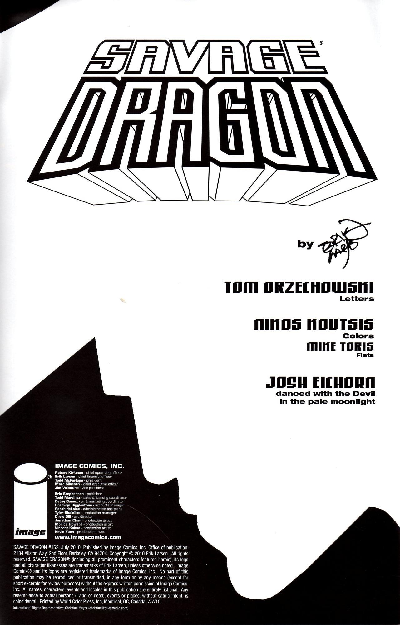 The Savage Dragon (1993) 162 Page 2