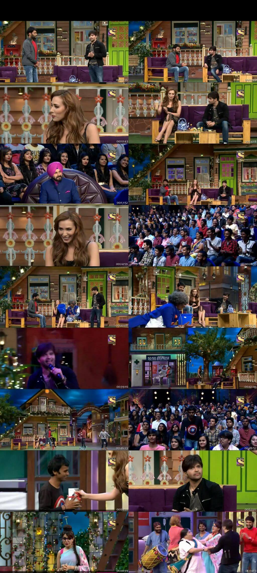 Screen Shot Of The Kapil Sharma Show 8th January 2017 Episode 73 300MB Watch Online