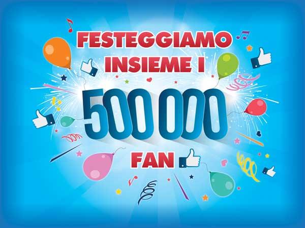 Parmalat Festeggiamo Insieme 500000 fan