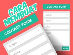 Cara Membuat Contact Form Simpel dan Responsive