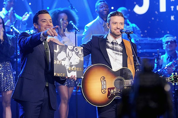 Justin Timberlake on Jimmy Fallon show