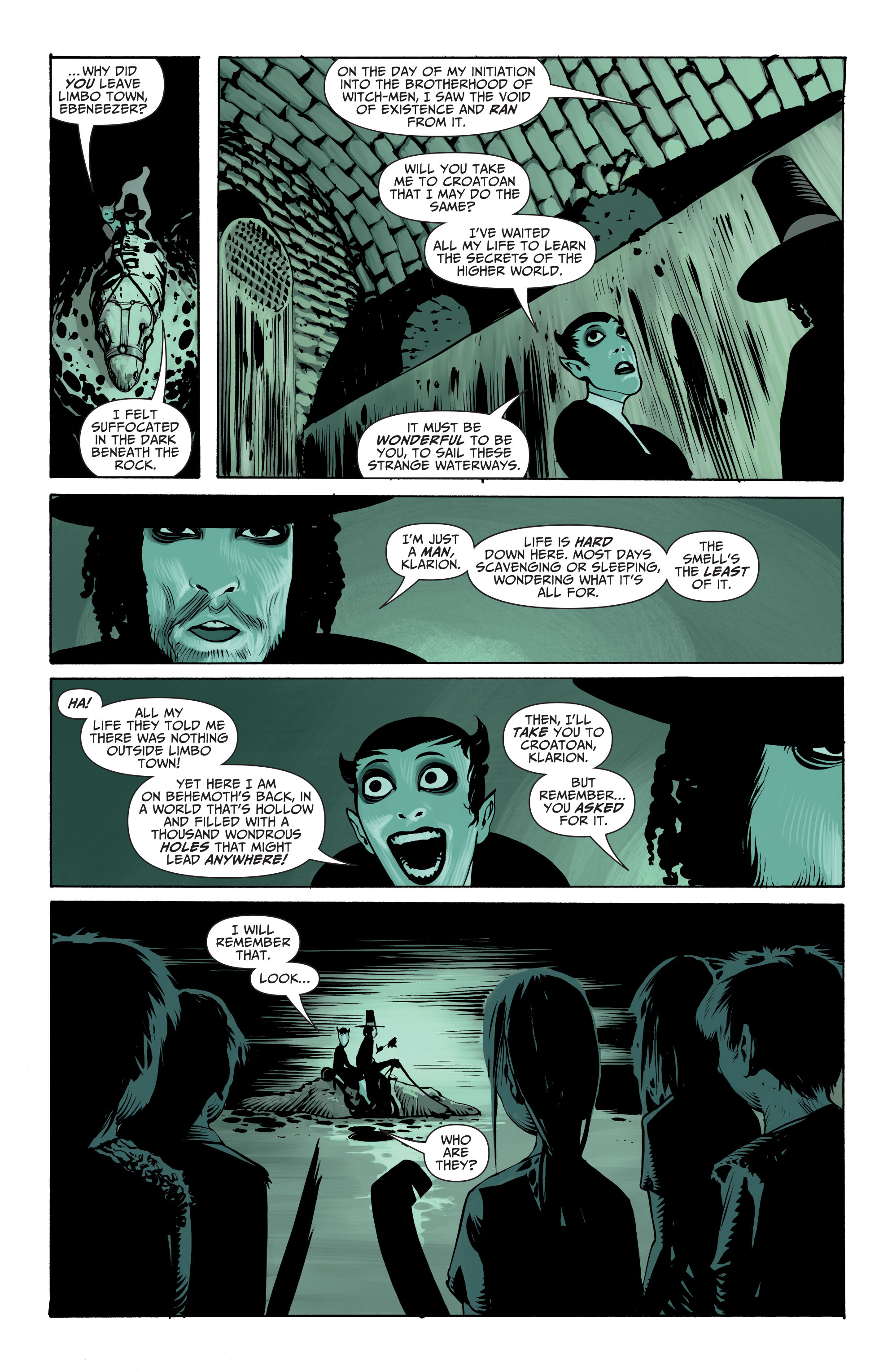 Read online Seven Soldiers: Klarion the Witch Boy comic -  Issue #2 - 10