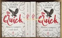 Logo Con Fazi Editore leggi e vinci gratis ''The Quick'' di Lauren Owen