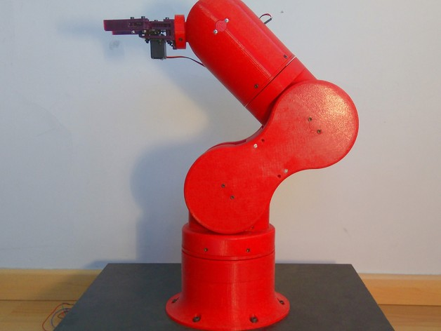 DIY 3D Printing: Thor Open Source Robotic Arm from Spain