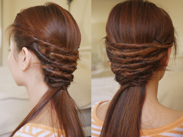 Easy Twist Hair