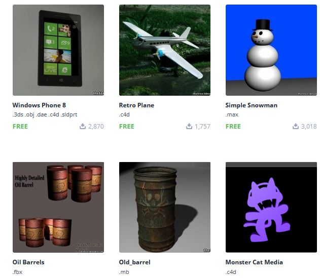 5 free 3D objects sources for designers - Encywiki