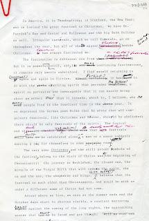 James Joyce's quarrel with Catholicism.