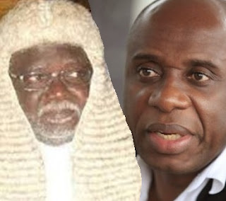 BREAKING: Another judge accuses Amaechi, Oni of begging him over Ebonyi, Ekiti, Rivers cases