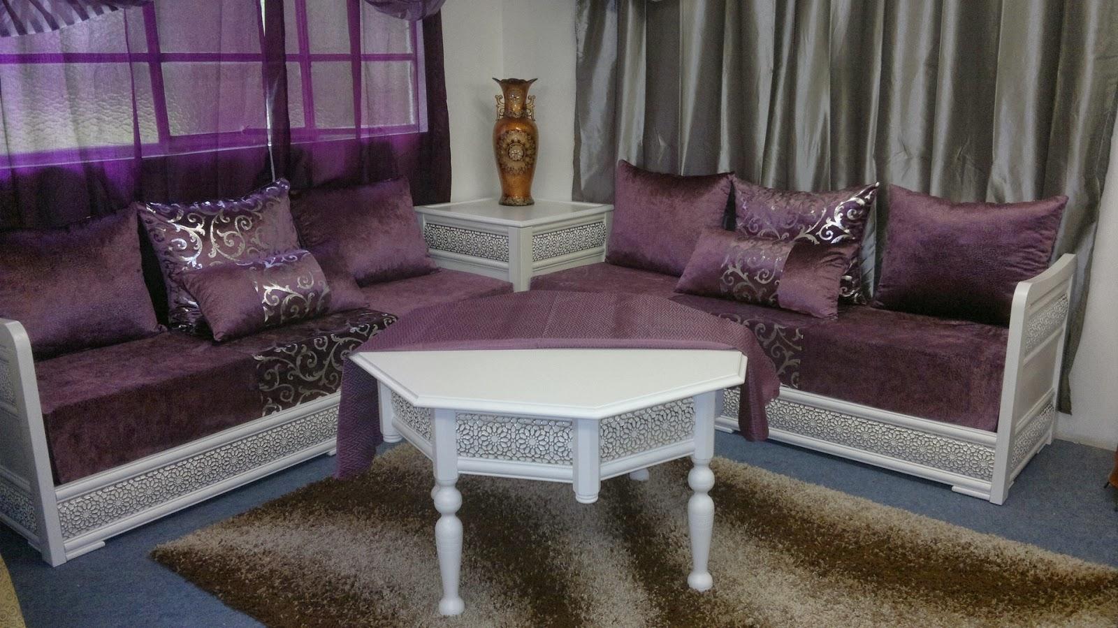 Table Salon Marocain Noir