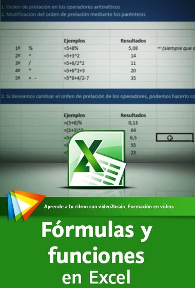 Video2Brain: Excel 2013. Fórmulas y funciones