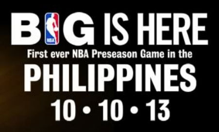 NBA Game at MOA Arena on October 10 Confirmed