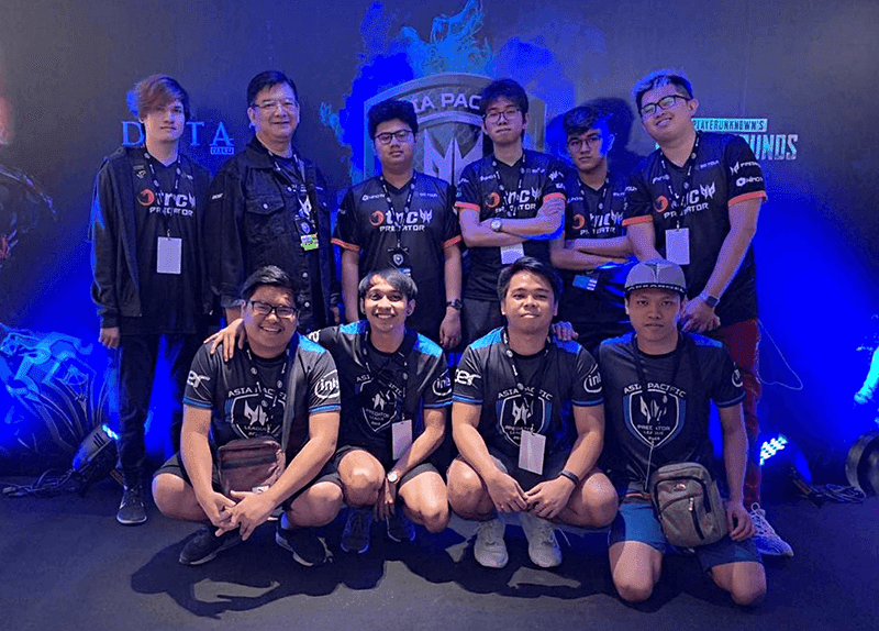Philippine delegates ArkAngel for PUBG and TNC Predator for DOTA 2