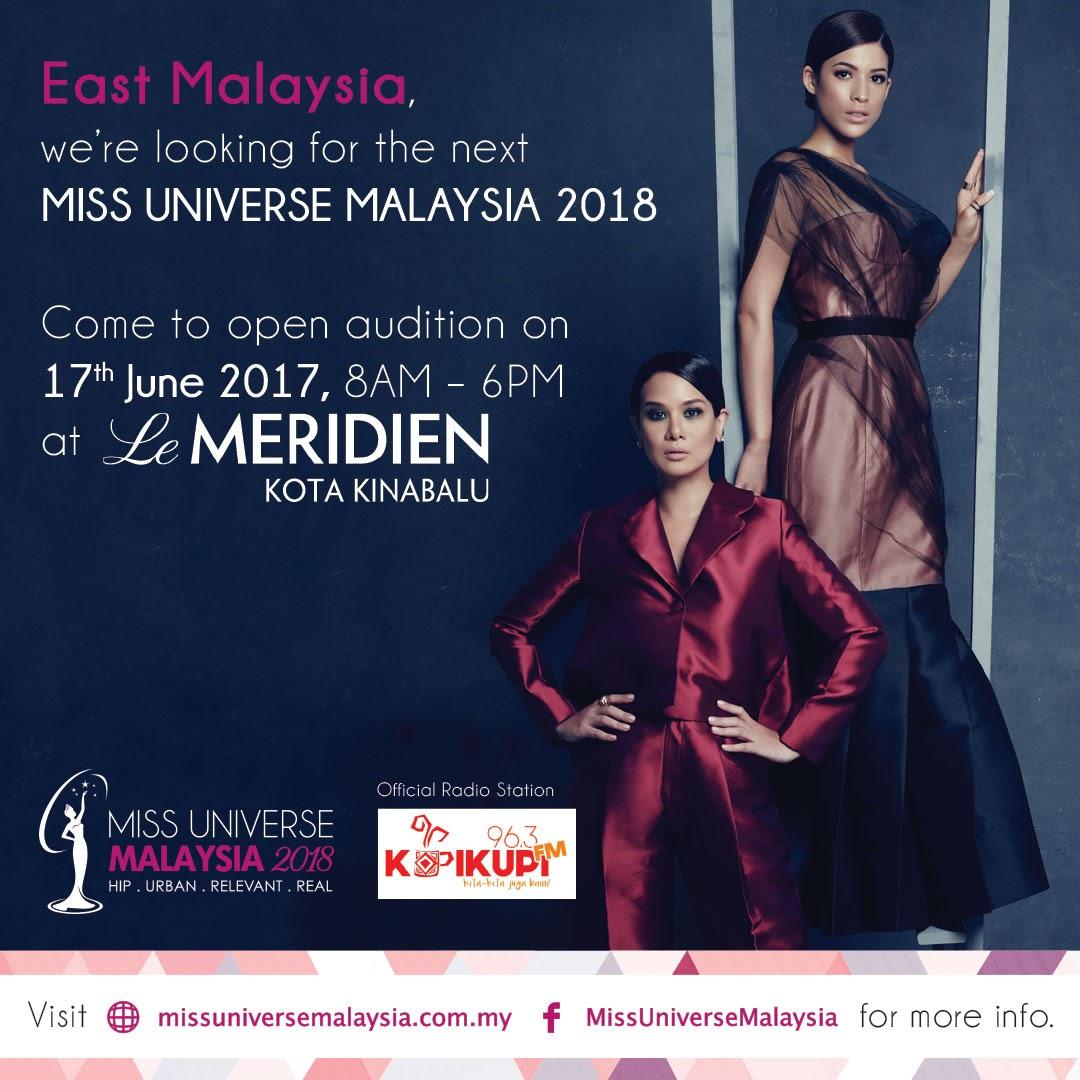 Pencarian Miss Universe Malaysia 2018 Kini Bermula Di Sabah