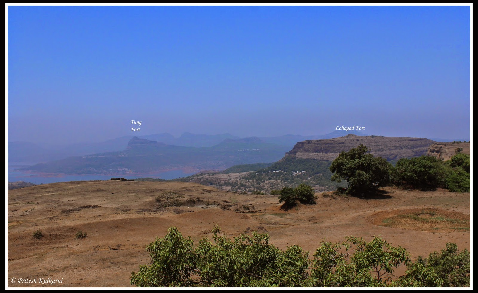 Fort Lohagad and Fort Tung