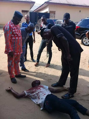 Governor's Aide Saves Armed Robber From Being Killed (Photos)