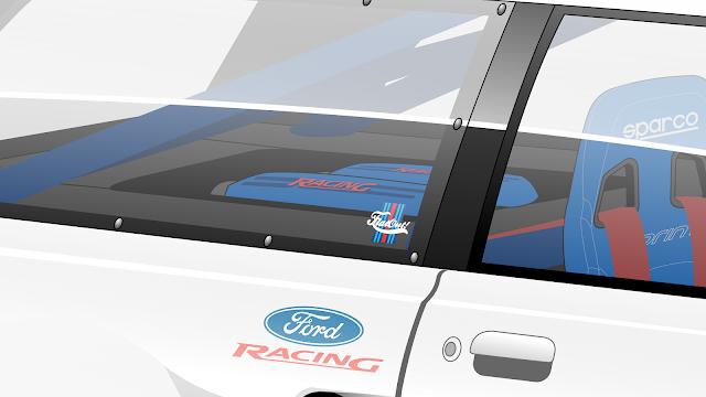 """Imagem mostrando o desenho do detalhe do motor da Ford Belina II """"650 CLN"""""""