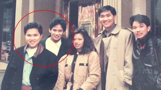 Menilik Persahabatan Erick Thohir dan Sandiaga Uno, Sohib sejak Muda