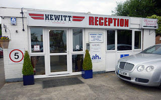 Hewitt Automotive forecourt
