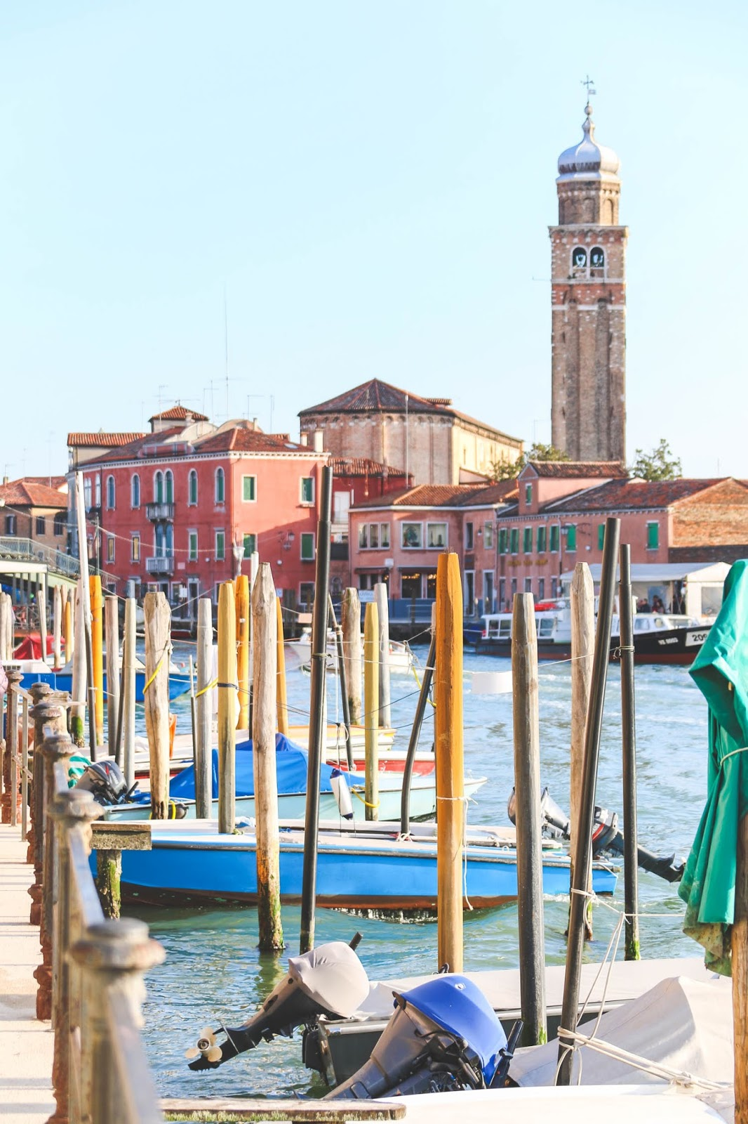 An Afternoon in Murano, Italy