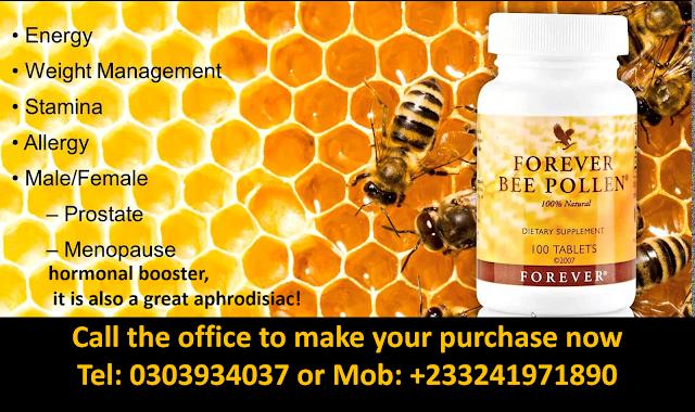 Forever Bee Pollen Benefits