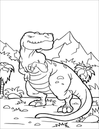 Best Of T-rex Coloring Page Dinosaur