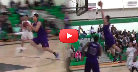 Kobe Paras Scores 2 Dunks In 20 Seconds Against St. Genevieve Valiants (VIDEO)