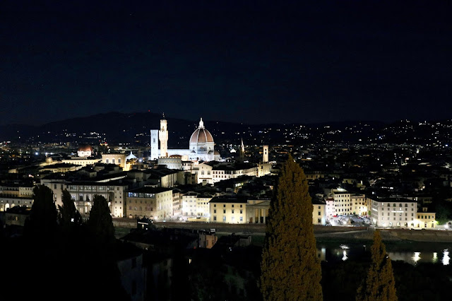 night view in Florence