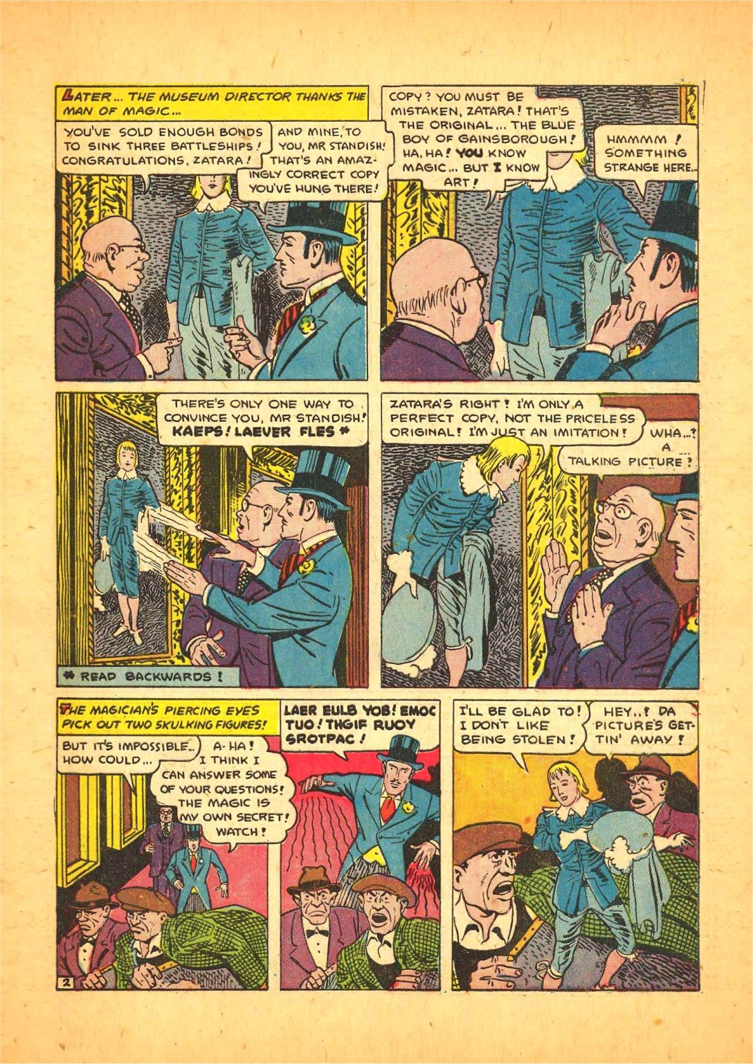 Read online Action Comics (1938) comic -  Issue #68 - 50