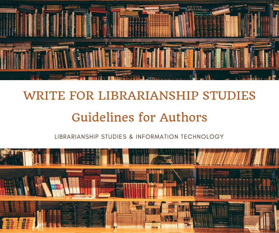 Write for Librarianship Studies - Guidelines for Authors