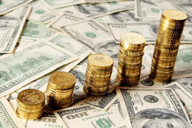 Precio del oro y dolar