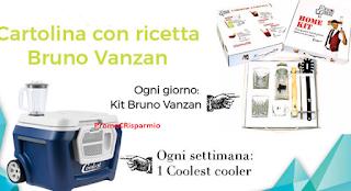 Logo ''Ghiaccia e vinci'' Coolest Cooler, kit Vanzan e viaggi a Berlino