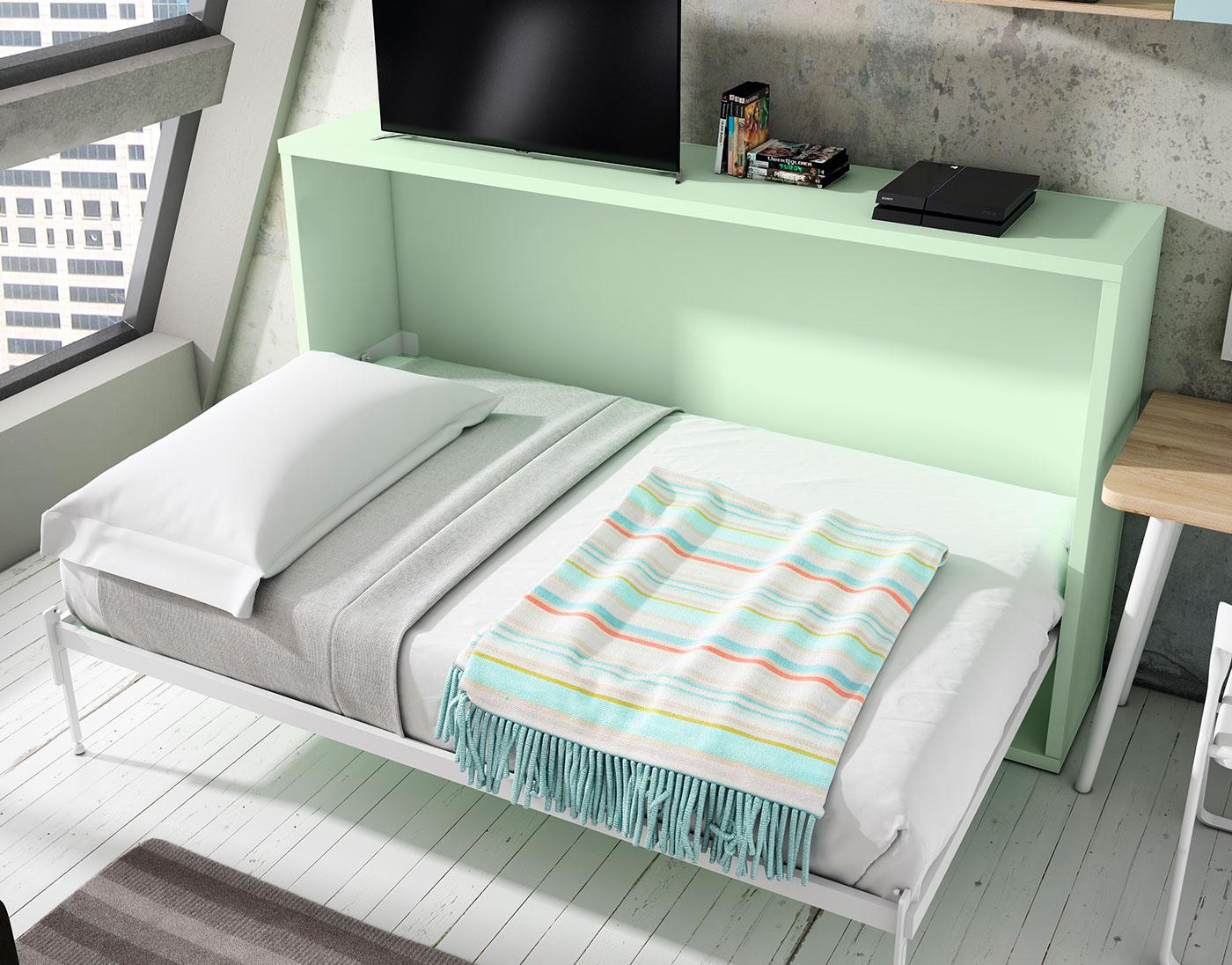 Wall beds ecuador camas ingeniosas para espacios reducidos - Cama para espacios reducidos ...
