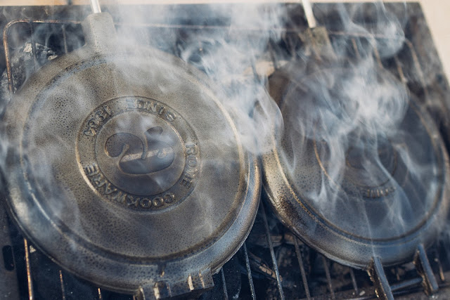 Gear of the Week #GOTW KW 07  ROME Chuckwagon Waffeleisen  Cast-Iron Waffle-Iron  Outdoor-Waffeleisen 06