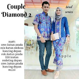 Batik Couple Diamond Gradiasi