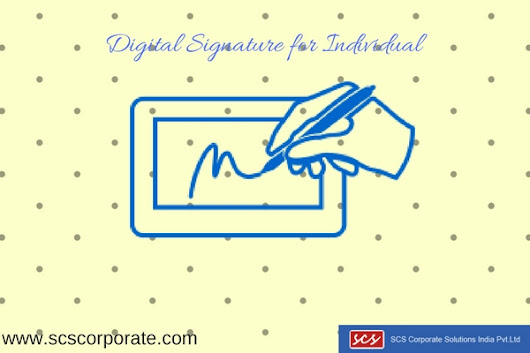 Class 2 Digital Signature for Individual