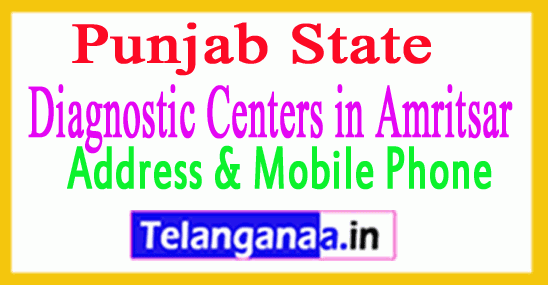 Diagnostic Centers in Amritsar In Punjab
