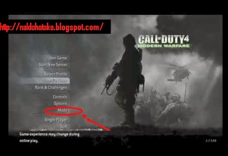 Bermain membunuh zombie di call of duty modern warfare 4
