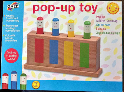 GALT pop-up toy box