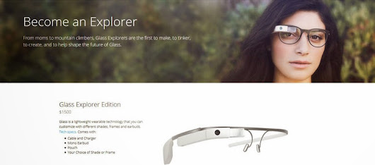 You Can Buy The Google Glass Today!