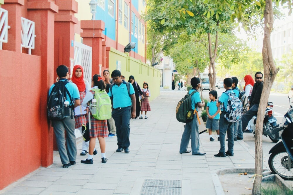 students in hulhumale