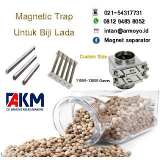 Magnetic Trap untuk Biji lada