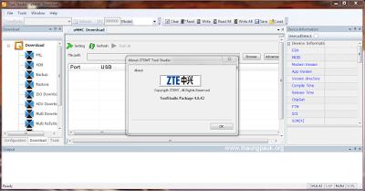 ZTEMT ToolStudio 4.6.42 eMMC Download Tool